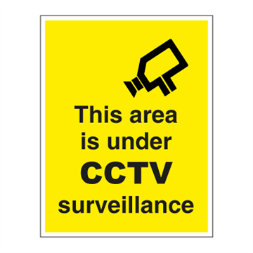 This area is under CCTV - ISPS Code Signs