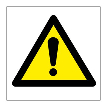 Warning - Hazard & Warning Signs