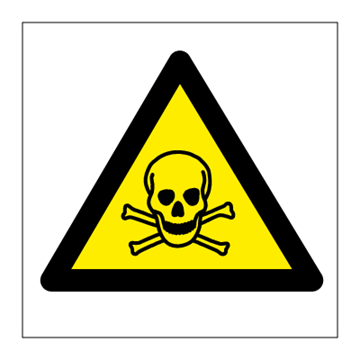 Toxic - Hazard & Warning Signs