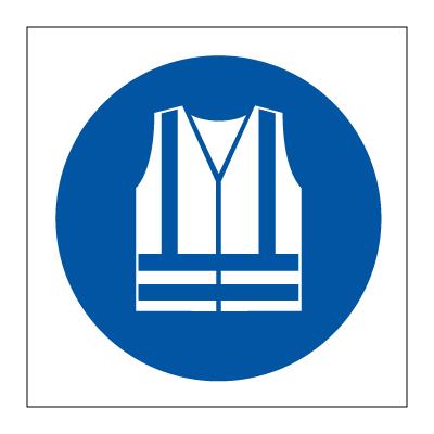 High Visibility Vest >> High visibility vest must be worn